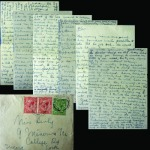 For Auction page property - Six page letter from AnnieMacSwiney