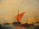 FELIX ZIEM [French 1821-1911]Oil on canvas 33cm x 43cm, signed lower right est. €5,000/10,000