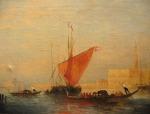 FELIX ZIEM [French 1821-1911]Oil on canvas 33cm x 43cm, signed lower right est. €5,000/10,000