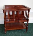 Lot 3: Victorian mahogany Canterbury est. €500/800