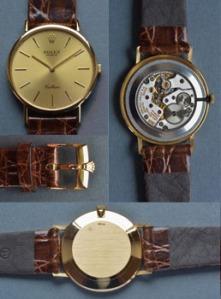 """Gents Rolex """"Cellini"""" wristwatch est. €2500/3500"""