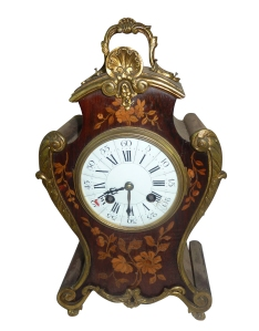 19th century Marquetry and ormolu mounted Bracket Clock est €800-1200