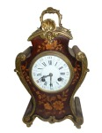 19thC Marquetry and ormolu mounted Bracket Clock est 800-1200 Eu