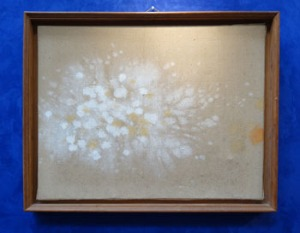 "Lot 17: Patrick Scott, (1921-2014), Bog Cotton, Oil on Canvas, Signed Lower Right, 30"" x 24"" Approx est. €5000/6000"
